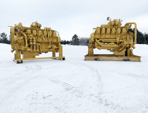 A pair of 785 engines ready to ship out!